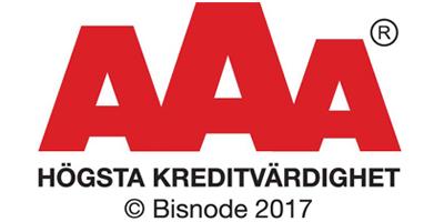 Stockholms Stadsbud - Bisnode AAA 2017